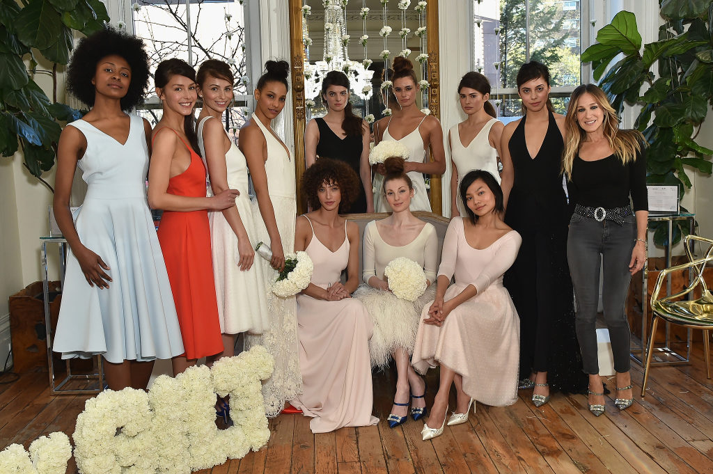 Gilt And Sarah Jessica Parker Celebrate Exclusive Bridal Collection