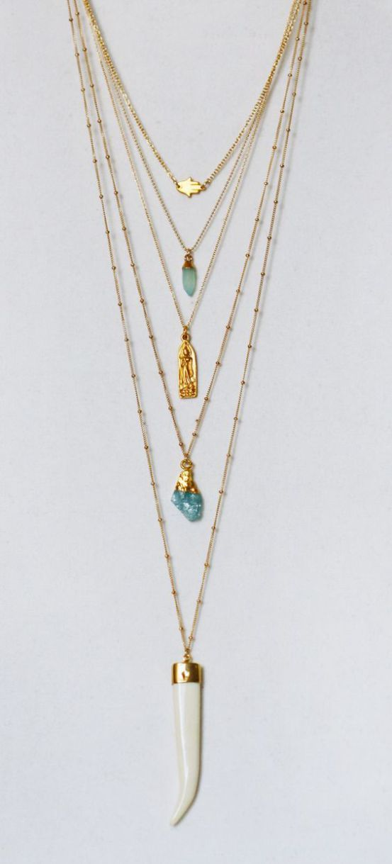Layered Nacklace