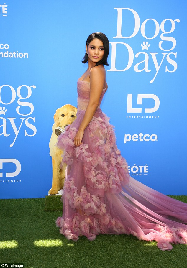 vanessa hudgens The Dog Day's LA Premier