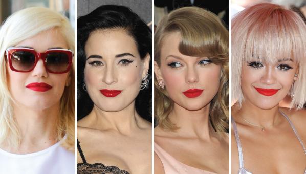 Red Shade lipsticks