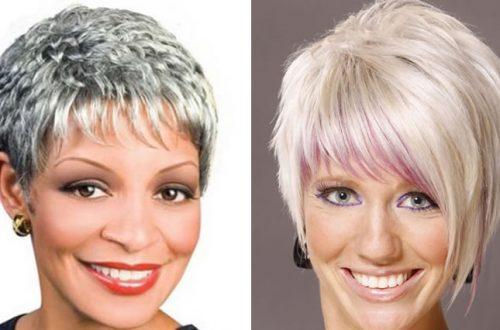 Short hairstyles for over 50 womenn