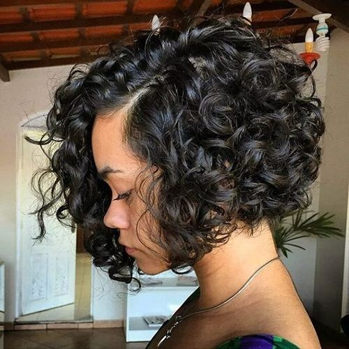 Curly Bob Hairstyles for Black Hair