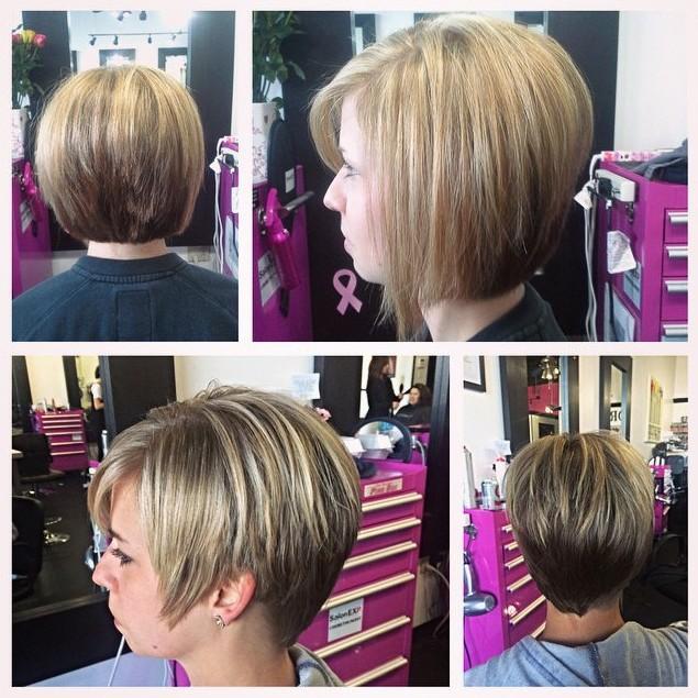 Stack Bob Haircuts